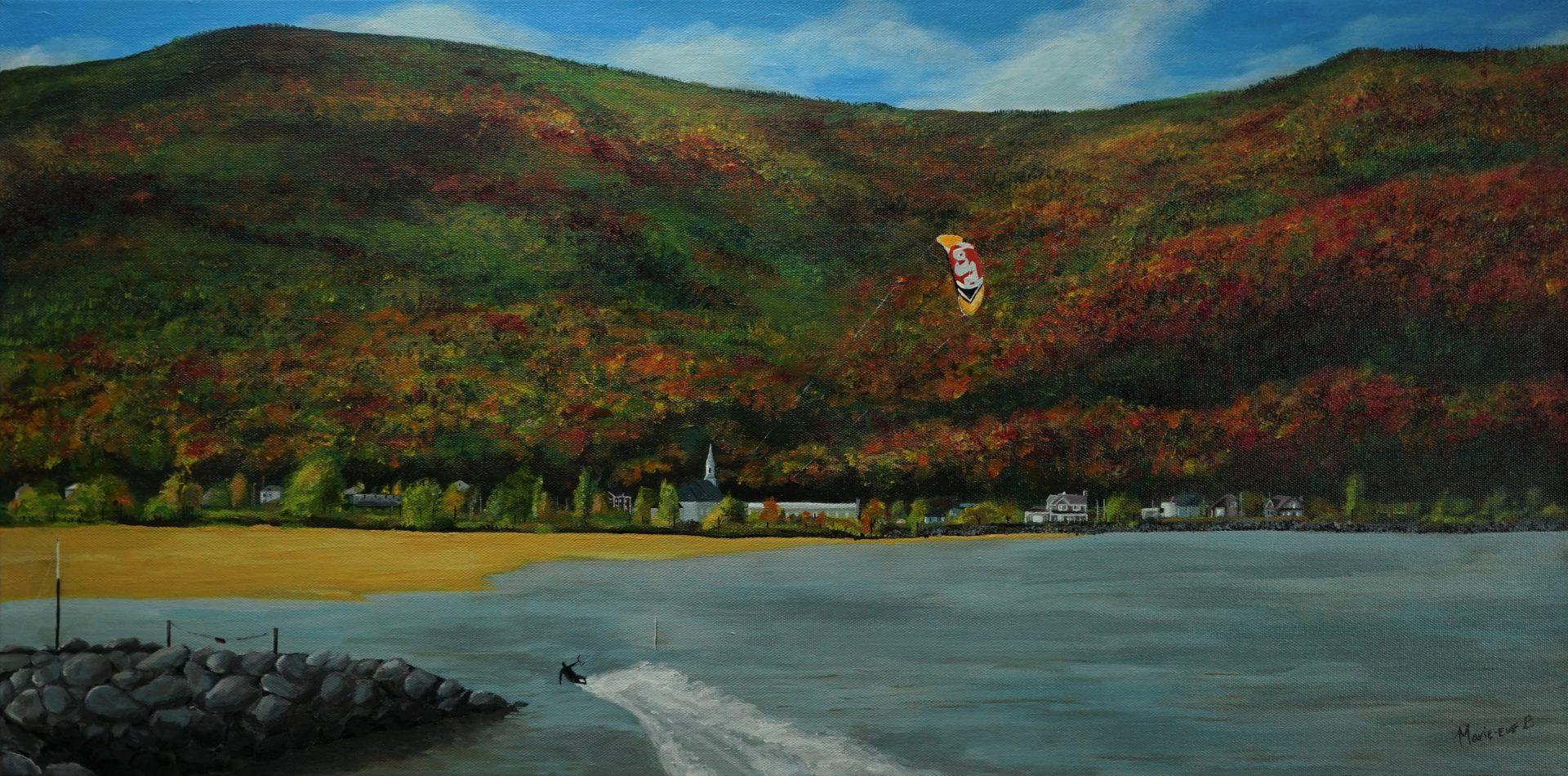 L'automne au fleuve